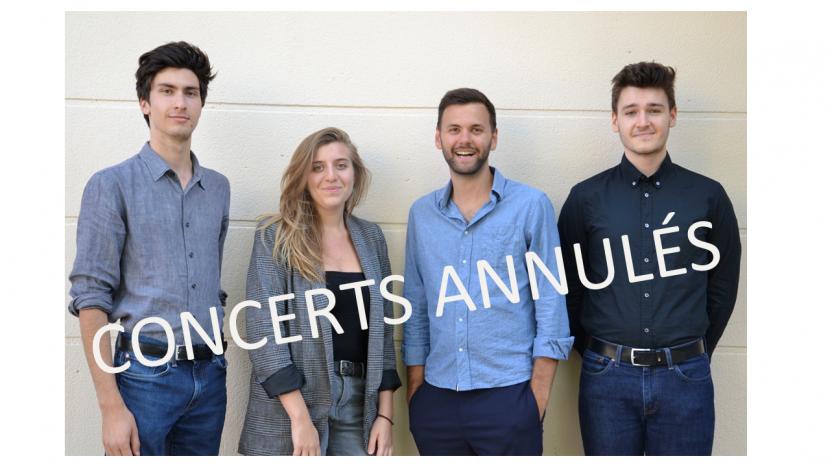 Concerts annulés
